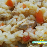 Рис с курицей и овощами.