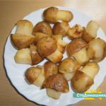 Фигурный картофель «Грибочки»