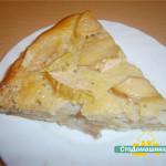 Пирог с яблоками.