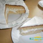 Йогуртовый торт в мультиварке.