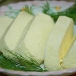 Домашний адыгейский сыр.